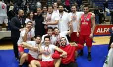 بطولة الدرجة الخامسة في كرة السلة : اللقب لكفرحزير وتشامبس الوصيف