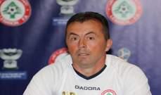 ميودراغ يؤكد ان المنتخب اللبناني استفاد في مباراة اوزبكستان