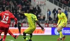 الليغ 1: انتصارات متاخرة لموناكو وبوردو وتعادل رين ونانت