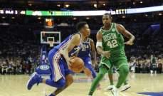 بوسطن سيلتيكس يبدأ موسم NBA الجديد بفوز على ارضه