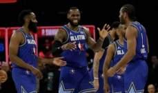ابرز لقطات مباراة كل النجوم 2020 في NBA