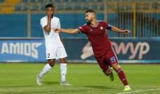 عبد الله السعيد يدخل نادي ال 100