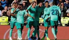 احصاءات من مباراة ريال مدريد واسبانيول