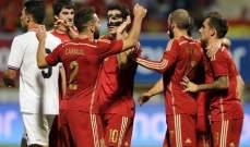 فابريغاس يهدي اسبانيا الفوز على كوستاريكا وديا