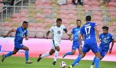 الدوري السعودي: تعادل الأهلي والفتح