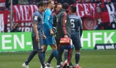 بايرن ميونيخ يخسر مانويل نوير بسبب الاصابة