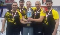بطولة جبل لبنان في كرة الطاولة : اللقب للفادي الاقدس-البوشرية