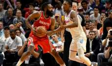 NBA: هيوستن روكتس يسقط في مواجهة ميامي هيت