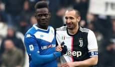 بالوتيلي يهاجم الاتحاد الايطالي بعد تأخر قرار ايقاف الدوري مؤقتاً