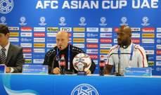مدرب فلسطين: كسبنا نقطة تاريخية في كأس آسيا