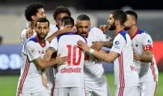 الشارقة يحلق في صدارة الدوري الاماراتي