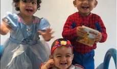 كريستيانو رونالدو يعايد طفلته الصغيرة