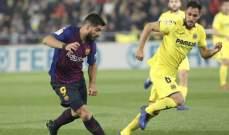 قرارات صائبة لحكم مباراة برشلونة وفياريال