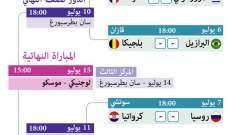 خاص : من سيحجز مكانه في نصف نهائي كأس العالم 2018 ؟