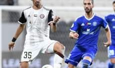 الدوري الاماراتي: النصر يعود من بعيد ليتخطى الجزيرة