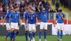 هدف ايطاليا في مرمى بولندا