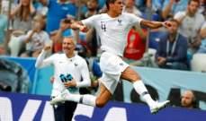 خاص: فرنسا عرفت استغلال ضعف الاوروغواي وغياب كافاني وخطأ موسليرا ووصلت الى نصف النهائي