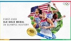 اولمبياد طوكيو: سيدات اميركا يحصدن ذهبية السلة 3*3