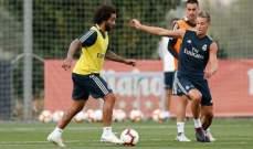ريال مدريد يستعيد مارسيلو من الاصابة