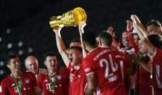 بايرن ميونيخ يقسو على ليفركوزن ويحتفظ بلقب كأس المانيا عن جدارة