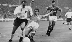 إدخال أسطورة كرة القدم الإنكليزية غريفز المستشفى
