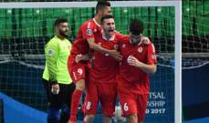 لبنان يواجه ايران في ربع نهائي بطولة اسيا لكرة الصالات تحت 20 عاما