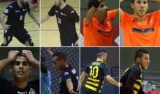 ترشيح 8 لاعبين لجائزة افضل لاعب في الدوري اللبناني لكرة الصالات
