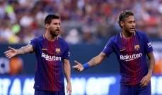 نيمار يوتّر العلاقة بين ميسي ورئيس برشلونة