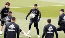 قائمة ريال مدريد لمواجهة اسبانيول