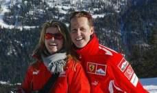 تصريح جديد لزوجة مايكل شوماخر يزيد الامور غموضا حول صحته