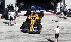 عقوبة بحق ساينز والبون في سباق النمسا