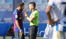 الموندو تذكر حكم مباراة برشلونة-غيرونا بقراراته السابقة