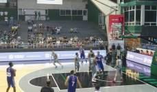 خاص: الحكمة الاكثر تسجيلا بعد نهاية المرحلة الاولى لكرة السلة اللبنانية