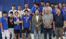 بطولة لبنان في المبارزة- مسابقة سلاح الشيش