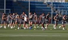 تدريبات ريال مدريد تشهد غياب لاعب وحيد