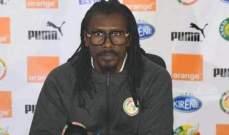 مدرب السنغال: المشاركة في نهائيات امم افريقيا مهمة بالنسبة لأي لاعب