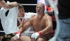يميليانينكو يهزم سونين بالضربة الفنية القاضية
