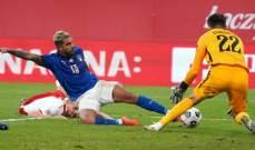 ايمرسون بالميري: مع منتخب إيطاليا أشعر أني لاعب مهم