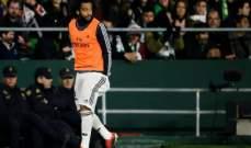 صحفي اسباني : مارسيلو سيعود الى التشكيلة الاساسية