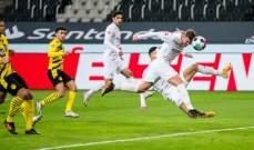 الدوري الألماني: مونشنغلادباخ يقسو على دورتموند ويتخطاه برباعية