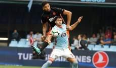 سيلتا فيغو يمنح ريال مدريد افضلية على المركز الثالث بعد جرّه فالنسيا للتعادل