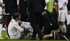 ريال مدريد قلق من لياقة راموس قبل مواجهة اشبيلية