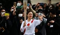 طوكيو 2020: جولة تجريبية للشعلة الاولمبية وسط استمرار المخاوف من فيروس كورونا