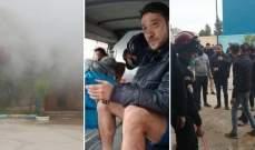 حريق في مقر نادي أولمبي المدية الجزائري كاد يؤدي لكارثة