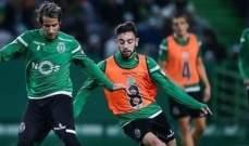 رئيس سبورتنغ لشبونة ينفذ الغير متوقع بحق 18 لاعب من الفريق