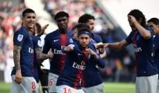 الليغ 1 : باريس سان جيرمان يتخطى انجيه ويخسر نيمار وماركينيوس