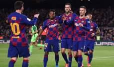 برشلونة يسعى لتعزيز خط دفاعه من الدوري الانكليزي