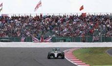 حضور جماهيري كبير لسباق جائزة بريطانيا