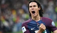 كافاني مشيدا بكانتي: أفضل لاعب في فرنسا