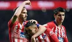غودين يكشف عن موعد رحيله عن اتلتيكو مدريد